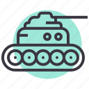 army, attack, battle, military, panzer, tank, war icon