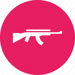 ak, ammunition, army, gun, military, shoot, war icon