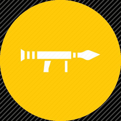 army, bazooka, gun, launcher, rocket, shoot, war icon