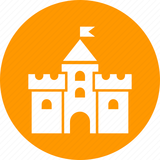 bastion, building, castle, citadel, fortress, medieval, tower icon