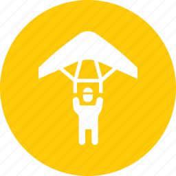 army, fly, glider, military, parachute, paraglide, soldier icon