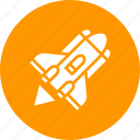 aircraft, ammuntion, launch, nuclear, rocket, spacecraft, war icon