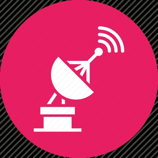 communication, device, radar, satellite, signal, technology icon
