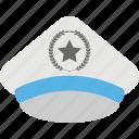 cop cap, policeman cap, policeman costume, policeman hat, policeman uniform icon