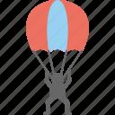 airman, parachute soldier, parachutist, paratrooper, soldier icon