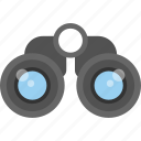binocular, explorer, looking, search, vision icon