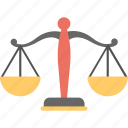 balance scale, equality, equality symbol, law scale, level icon