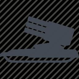 anti-aircraft gun, military eguipmtnt, rocket launcher, setting icon