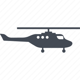 equipment, helicopter, military eguipmtnt, military helicopter icon