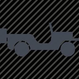 car, machine, military eguipmtnt, military vehicle icon