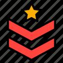 army, badge, military, reward, soldier icon