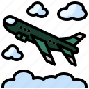 airplane, army, bomber, military, transportation, war, weapon icon