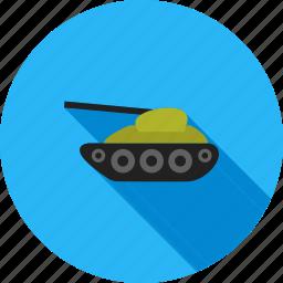 army, gun, military, tank, transport, war, weapon icon
