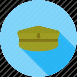 army, cap, force, hat, military, pilot, uniform icon