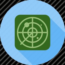 air, control, green, military, radar, screen, traffic icon
