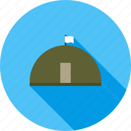 base, bunker, concrete, defence, military, war, wire icon