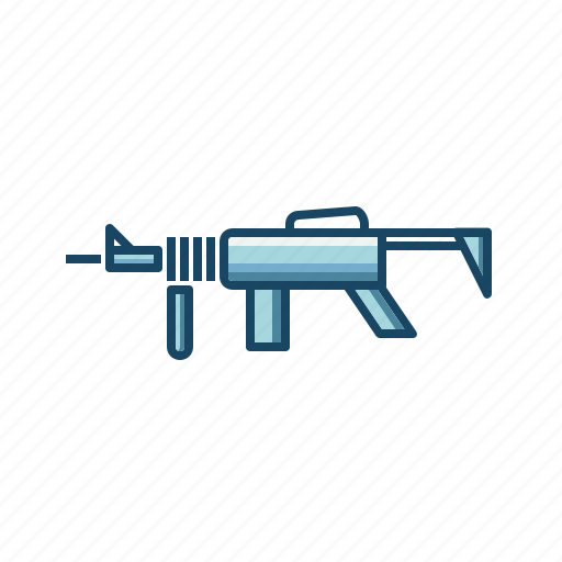 army, assault, defence, gun, military, police, rifle icon