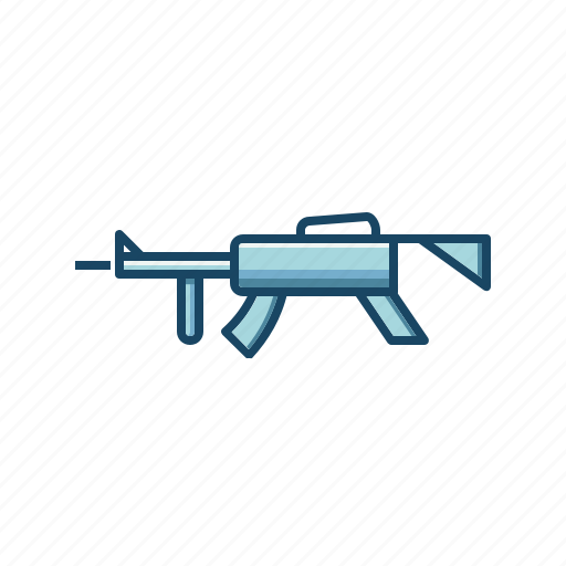 action, army, assault, gun, military, rifle, weapon icon