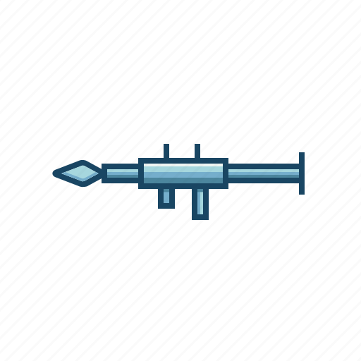 Firearms, launcher, military, rocket, weapon icon - Download on Iconfinder