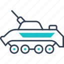 military, tank, transport, war icon