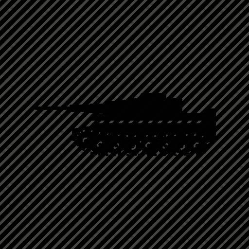 army, gun, military, tank, vehicle, war, weapon icon