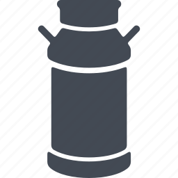 capacity, milk, milk cans, watering can icon