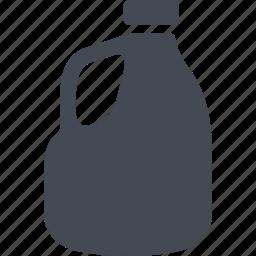 bottle, capacity, milk, milk canister icon
