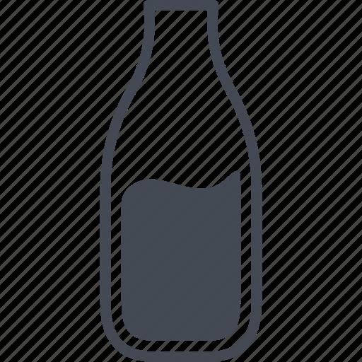 bottle, drink, milk, milk bottle icon