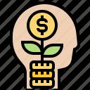 businessman, finance, investment, profit, thinking