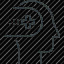 health, mental icon