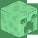 creeper, 3d icon
