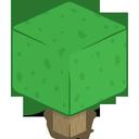 3d, tree icon