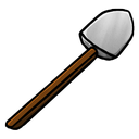 iron, shovel icon