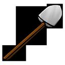 shovel, iron