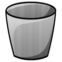 bucket, empty