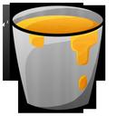 lava, bucket