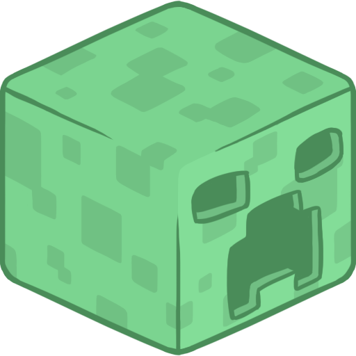 3d, creeper icon