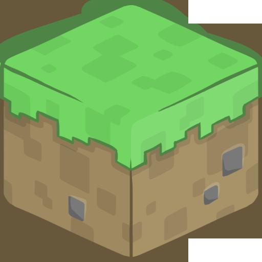 3d, grass icon