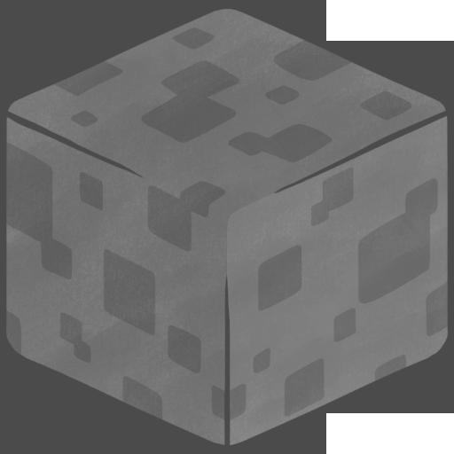 3d, stone icon