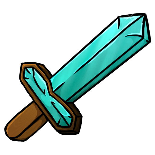 diamond, sword icon