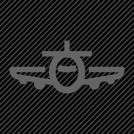 airplane, airport, business, departure, flight, transportation icon