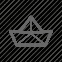 anchor, boat, cruise, sail, ship, transport icon