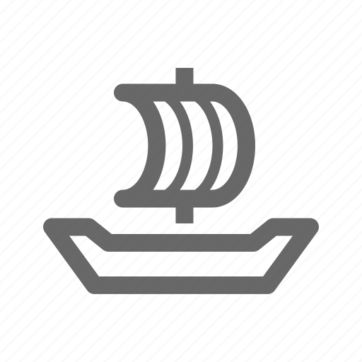 anchor, boat, cruise, sail, ship, transport icon