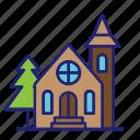 building, chapel, church, religious, house, architecture
