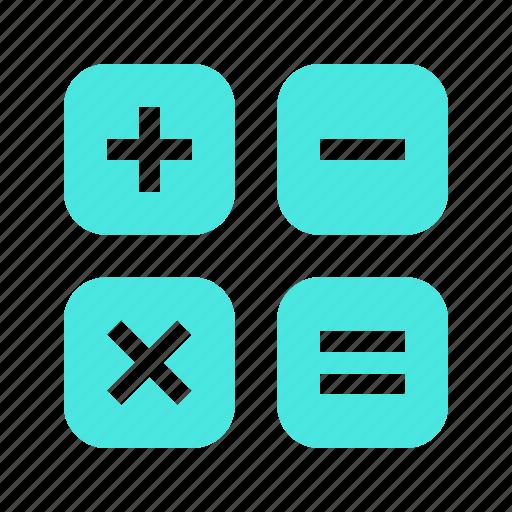 add, calculator, delete, document, mini, minus, monitor, multiply, new, plus, remove, screen, subtract icon