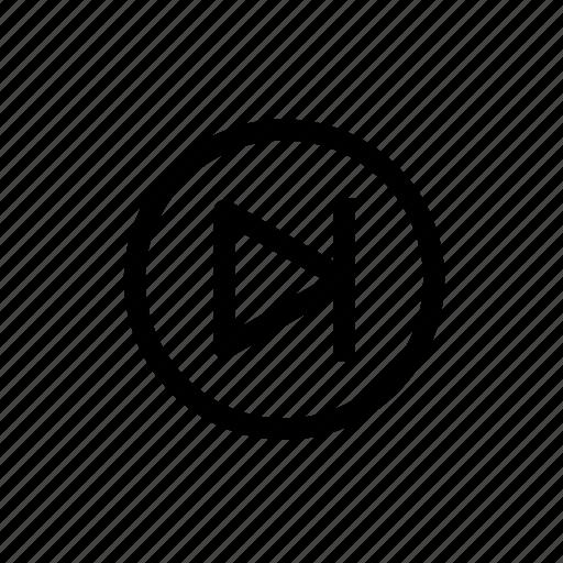 audio, fast forward, forward, lastmusic, next, video icon