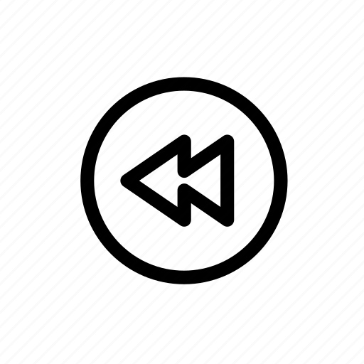 Audio, back, music, rewind, sound, video icon - Download on Iconfinder