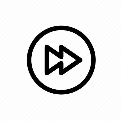 audio, fast forward, forward, music, next, video icon