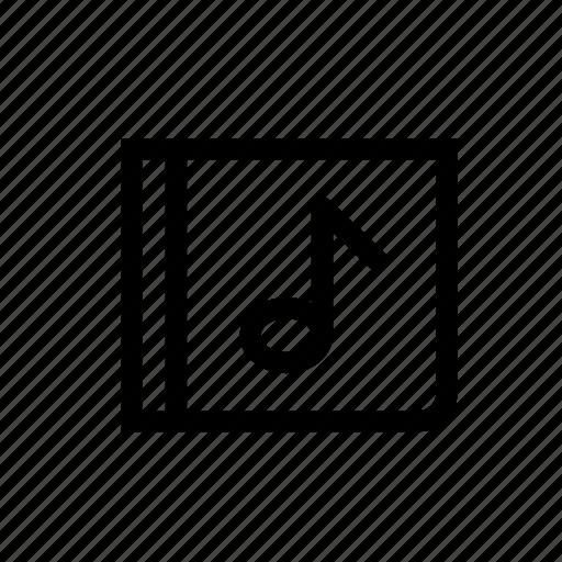 audio, cd, music, music album, musical, note icon