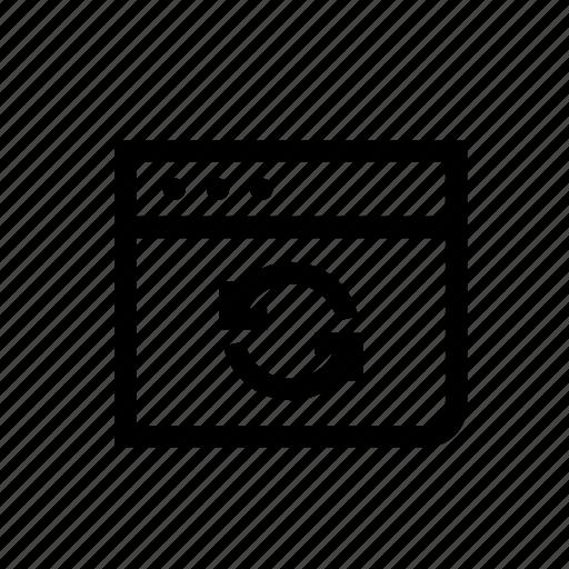 device, initializing, refresh, refresh page, synchronization, web, web page icon